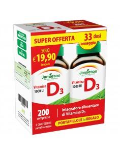 Vitamina D 1000UI Duo Pack