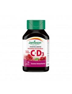 Vitamina C + D3 masticabile...
