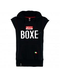 Felpa Box senza maniche Why...