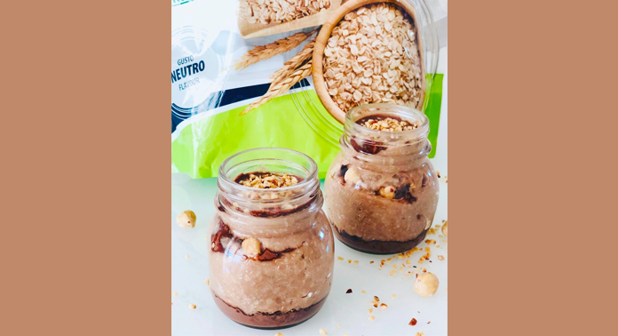 Hazelnut-choco Porridge